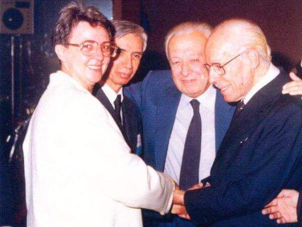La Dottoressa Rodriguez con Ortega, Negro e Paschero.