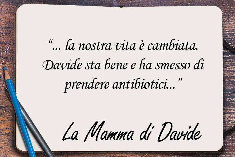 Il cuore di Davide e gli antibiotici